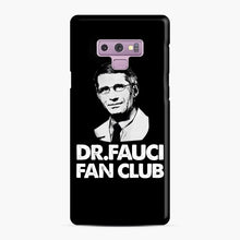 Load image into Gallery viewer, Dr Fauci Fan Club Officia Samsung Galaxy Note 9 Case, Snap Case | Webluence.com