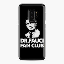 Load image into Gallery viewer, Dr Fauci Fan Club Officia Samsung Galaxy S9 Plus Case, Black Plastic Case | Webluence.com