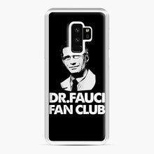 Load image into Gallery viewer, Dr Fauci Fan Club Officia Samsung Galaxy S9 Plus Case, White Plastic Case | Webluence.com