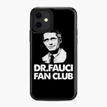 Load image into Gallery viewer, Dr Fauci Fan Club Officia iPhone 11 Case, Black Plastic Case | Webluence.com