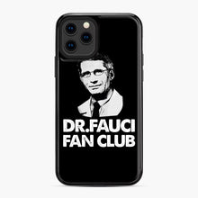 Load image into Gallery viewer, Dr Fauci Fan Club Officia iPhone 11 Pro Case, Black Plastic Case | Webluence.com