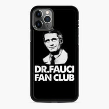 Load image into Gallery viewer, Dr Fauci Fan Club Officia iPhone 11 Pro Case, Black Rubber Case | Webluence.com