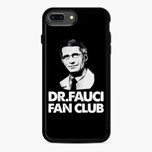 Load image into Gallery viewer, Dr Fauci Fan Club Officia iPhone 7,8 Plus Case, Black Rubber Case | Webluence.com