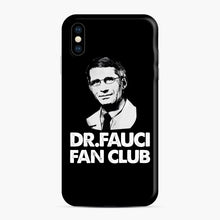 Load image into Gallery viewer, Dr Fauci Fan Club Officia iPhone XS Max Case, Snap Case | Webluence.com