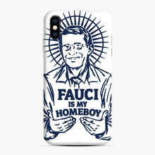 Load image into Gallery viewer, Dr Fauci Is My Homeboy iPhone XS Max Case, Snap Case | Webluence.com