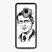 Load image into Gallery viewer, Dr. Anthony Fauci hope Illustration Samsung Galaxy S9 Case, Black Rubber Case | Webluence.com