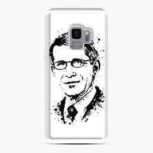 Load image into Gallery viewer, Dr. Anthony Fauci hope Illustration Samsung Galaxy S9 Case, White Plastic Case | Webluence.com