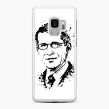 Load image into Gallery viewer, Dr. Anthony Fauci hope Illustration Samsung Galaxy S9 Case, White Rubber Case | Webluence.com