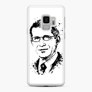 Dr. Anthony Fauci hope Illustration Samsung Galaxy S9 Case, White Rubber Case | Webluence.com