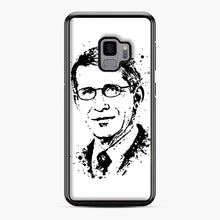 Load image into Gallery viewer, Dr. Anthony Fauci hope Illustration Samsung Galaxy S9 Case, Black Plastic Case | Webluence.com