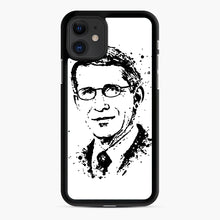 Load image into Gallery viewer, Dr. Anthony Fauci hope Illustration iPhone 11 Case, Black Rubber Case | Webluence.com