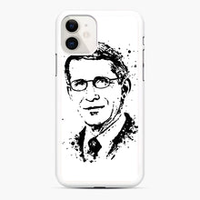 Load image into Gallery viewer, Dr. Anthony Fauci hope Illustration iPhone 11 Case, White Rubber Case | Webluence.com