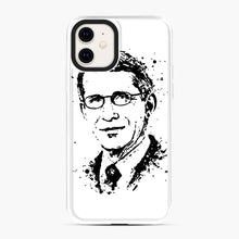 Load image into Gallery viewer, Dr. Anthony Fauci hope Illustration iPhone 11 Case, White Plastic Case | Webluence.com