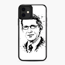 Load image into Gallery viewer, Dr. Anthony Fauci hope Illustration iPhone 11 Case, Black Plastic Case | Webluence.com