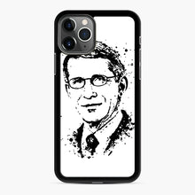 Load image into Gallery viewer, Dr. Anthony Fauci hope Illustration iPhone 11 Pro Case, Black Rubber Case | Webluence.com