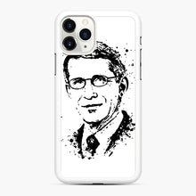 Load image into Gallery viewer, Dr. Anthony Fauci hope Illustration iPhone 11 Pro Case, White Rubber Case | Webluence.com