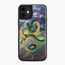Load image into Gallery viewer, Dragonball Super Shenlong the Dragon iPhone 11 Case, Black Plastic Case