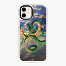 Load image into Gallery viewer, Dragonball Super Shenlong the Dragon iPhone 11 Case, White Plastic Case
