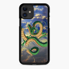 Load image into Gallery viewer, Dragonball Super Shenlong the Dragon iPhone 11 Case, Black Rubber Case