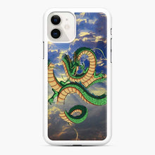 Load image into Gallery viewer, Dragonball Super Shenlong the Dragon iPhone 11 Case, White Rubber Case