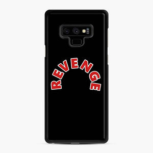 Drake Revenge Trippie Redd Samsung Galaxy Note 9 Case, Black Rubber Case
