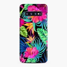 Load image into Gallery viewer, Drive You Mad Hibiscus Pattern Tropical Pattern Bird Of Paradise Aloha Samsung Galaxy S10 Plus Case