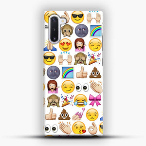 EMOJIS ARE A GALS BEST FRIEND Samsung Galaxy Note 10 Case, Snap Case | Webluence.com
