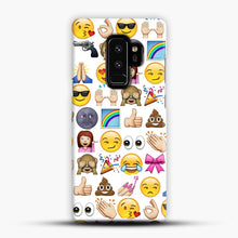 Load image into Gallery viewer, EMOJIS ARE A GALS BEST FRIEND Samsung Galaxy S9 Plus Case, Snap Case | Webluence.com