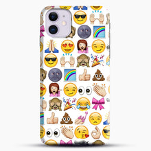 Load image into Gallery viewer, EMOJIS ARE A GALS BEST FRIEND iPhone 11 Case.jpg, Snap Case | Webluence.com