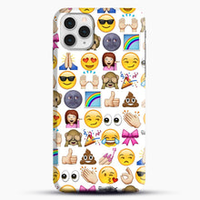 Load image into Gallery viewer, EMOJIS ARE A GALS BEST FRIEND iPhone 11 Pro Case, Snap Case | Webluence.com