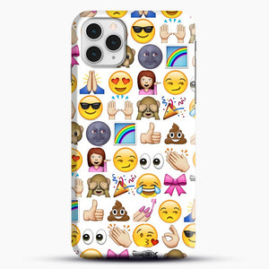 EMOJIS ARE A GALS BEST FRIEND iPhone 11 Pro Case, Snap Case | Webluence.com