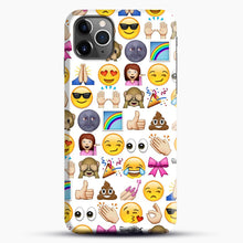 Load image into Gallery viewer, EMOJIS ARE A GALS BEST FRIEND iPhone 11 Pro Max Case.jpg, Snap Case | Webluence.com