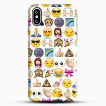 Load image into Gallery viewer, EMOJIS ARE A GALS BEST FRIEND iPhone XS Max Case, Snap Case | Webluence.com