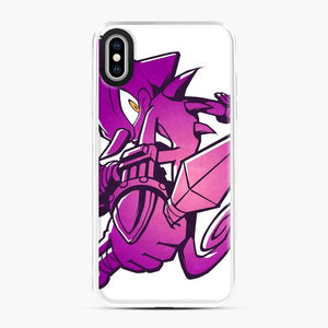 Espio The Chameleon Fortnite iPhone XS Max Case, White Plastic Case