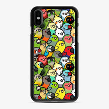 Load image into Gallery viewer, Everybirdy Pattern Love Bird iPhone X/XS Case