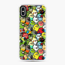 Load image into Gallery viewer, Everybirdy Pattern Love Bird iPhone XS Max Case