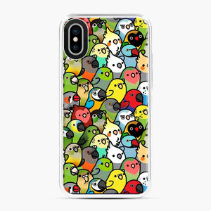 Everybirdy Pattern Love Bird iPhone X/XS Case