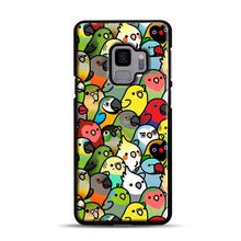 Load image into Gallery viewer, Everybirdy Pattern Samsung Galaxy S9 Case, Black Plastic Case | Webluence.com