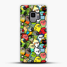 Load image into Gallery viewer, Everybirdy Pattern Samsung Galaxy S9 Case, Snap Case | Webluence.com