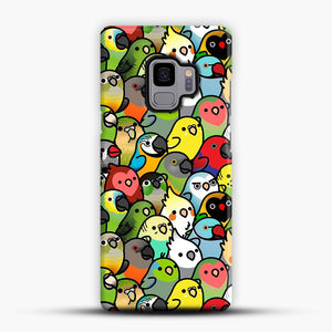 Everybirdy Pattern Samsung Galaxy S9 Case, Snap Case | Webluence.com