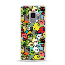 Load image into Gallery viewer, Everybirdy Pattern Samsung Galaxy S9 Case, White Rubber Case | Webluence.com