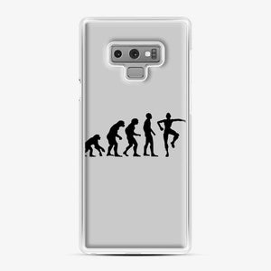 Evolution Fortnite Samsung Galaxy Note 9 Case, White Plastic Case