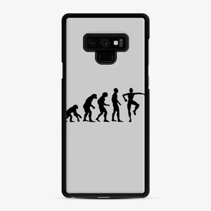 Evolution Fortnite Samsung Galaxy Note 9 Case, Black Rubber Case