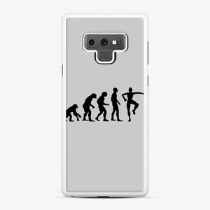 Evolution Fortnite Samsung Galaxy Note 9 Case, White Rubber Case