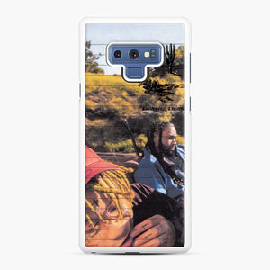 Excitement Trippie Samsung Galaxy Note 9 Case, White Rubber Case