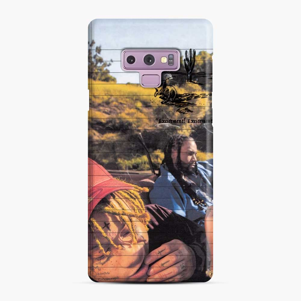 Excitement Trippie Samsung Galaxy Note 9 Case, Snap Case