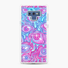 Load image into Gallery viewer, Eyeball Pattern Version 2 Slime Samsung Galaxy Note 9 Case