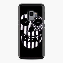 Load image into Gallery viewer, Flag Fiend Samsung Galaxy S9 Case, Black Plastic Case | Webluence.com