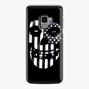 Flag Fiend Samsung Galaxy S9 Case, Black Plastic Case | Webluence.com