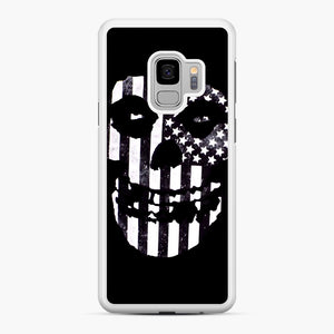 Flag Fiend Samsung Galaxy S9 Case, White Rubber Case | Webluence.com